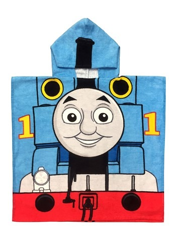 Click Here to buy Kids Thomas the Tank Engine Hooded Costume Poncho from HalloweenCostumes, CDN Funds & Shipping