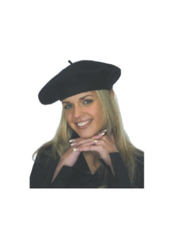 Click Here to buy Black Beret Hat from HalloweenCostumes, CDN Funds & Shipping