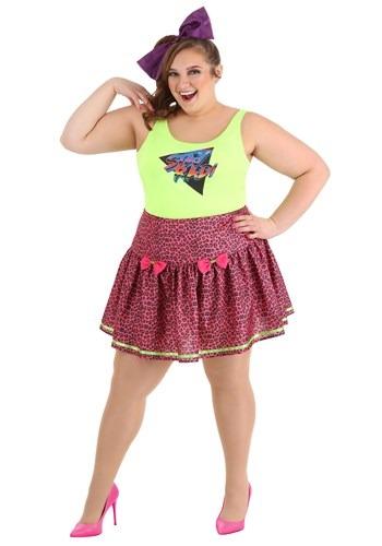 Plus Size 80s Rad Women Costume
