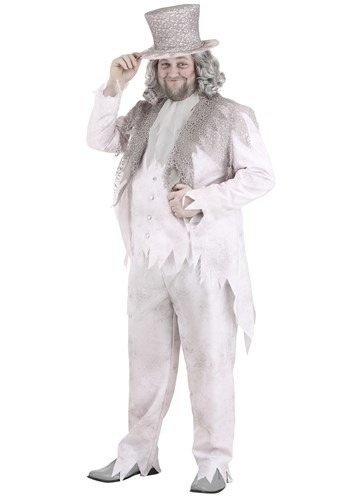 Plus Size Victorian Ghost Costume For Men