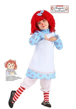 Toddler's Exclusive Raggedy Ann Costume
