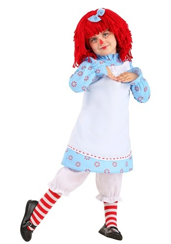 Exclusive Raggedy Ann Costume for Toddlers