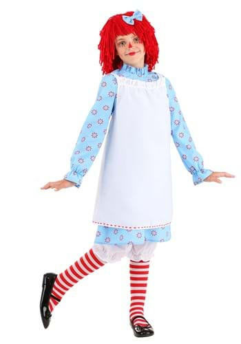 Click Here to buy Exclusive Raggedy Ann Kids Costume from HalloweenCostumes, CDN Funds & Shipping