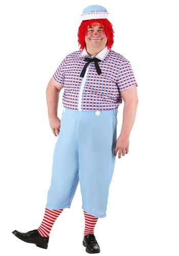 Plus Size Raggedy Andy Costume for Men