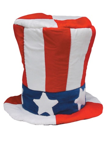 Click Here to buy Velvet Uncle Sam Top Hat from HalloweenCostumes, CDN Funds & Shipping