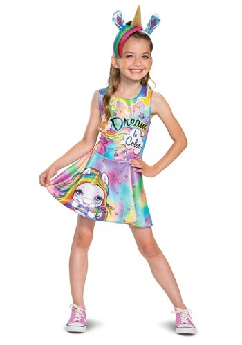 Click Here to buy Poopsie Slime Surprise Girls Rainbow Brightstar Classic Costume from HalloweenCostumes, CDN Funds & Shipping