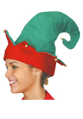 Click Here to buy Elf Hat from HalloweenCostumes, CDN Funds & Shipping