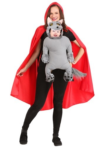 Red Riding Hood and Baby Wolf Costume