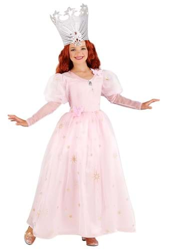 Click Here to buy Wizard of Oz Glinda Girls Costume from HalloweenCostumes, CDN Funds & Shipping