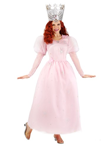 Click Here to buy Wizard of Oz Glinda Plus Size Womens Costume from HalloweenCostumes, CDN Funds & Shipping
