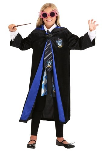 Click Here to buy Harry Potter Kids Deluxe Ravenclaw Robe from HalloweenCostumes, CDN Funds & Shipping