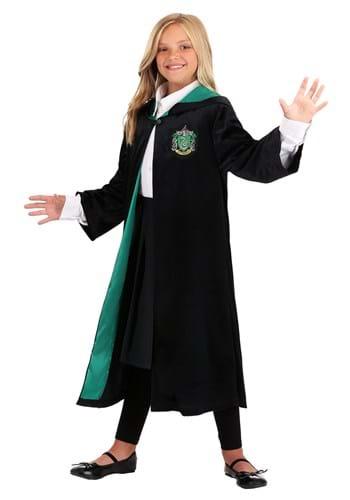 Kids Harry Potter Deluxe Slytherin Robe