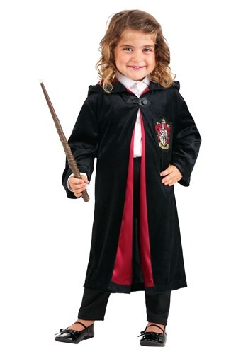 Click Here to buy Kids Harry Potter Deluxe Gryffindor Robe from HalloweenCostumes, CDN Funds & Shipping