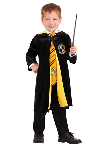 Harry Potter Kids Deluxe Hufflepuff Robe