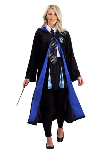 Click Here to buy Deluxe Harry Potter Plus Size Ravenclaw Robe for Adults from HalloweenCostumes, CDN Funds & Shipping