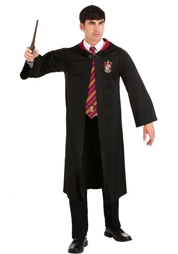Click Here to buy Harry Potter Plus Size Gryffindor Robe for Adults from HalloweenCostumes, CDN Funds & Shipping