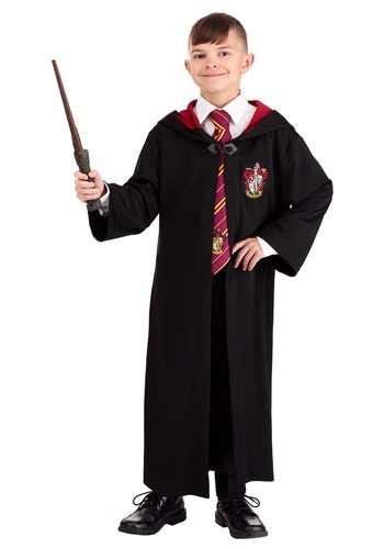 Click Here to buy Harry Potter Kids Gryffindor Robe from HalloweenCostumes, CDN Funds & Shipping