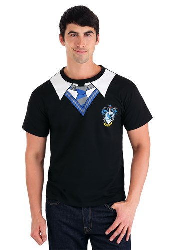 Adult Plus Size Harry Potter Ravenclaw Costume Shirt
