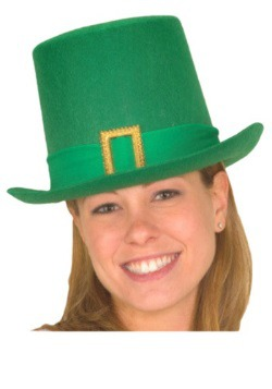 St. Patricks Day Tall Hat