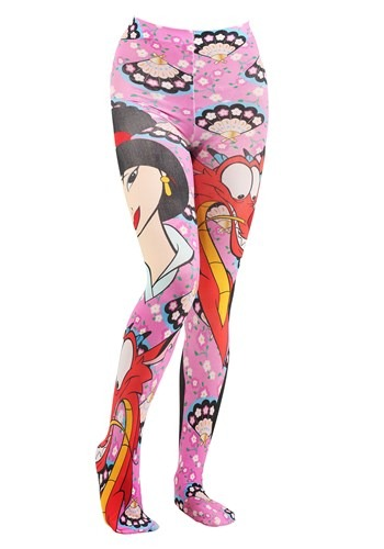 Irregular Choice Disney Princess - Mulan and Mushu Costume Tights
