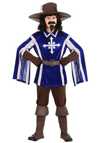 Click Here to buy Mighty Musketeer Kids Costume from HalloweenCostumes, CDN Funds & Shipping