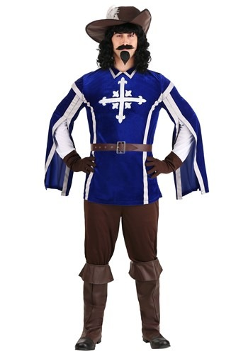 Click Here to buy Mens Mighty Musketeer Costume from HalloweenCostumes, CDN Funds & Shipping
