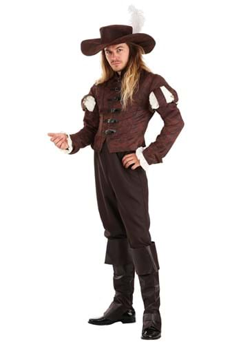 Click Here to buy Suave Swordsman Mens Costume from HalloweenCostumes, CDN Funds & Shipping