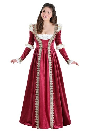 Click Here to buy Crimson Maiden Womens Costume from HalloweenCostumes, CDN Funds & Shipping
