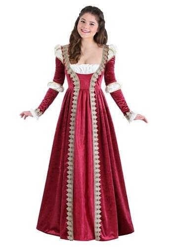 Crimson Maiden Costume for Women