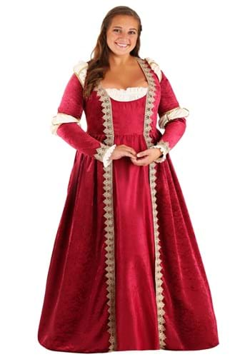 Click Here to buy Plus Size Crimson Maiden Womens Costume from HalloweenCostumes, CDN Funds & Shipping