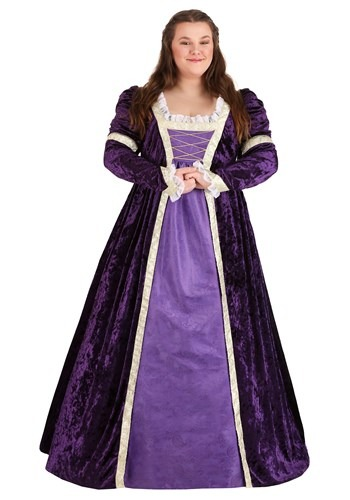 Click Here to buy Womens Regal Maiden Plus Size Costume from HalloweenCostumes, CDN Funds & Shipping