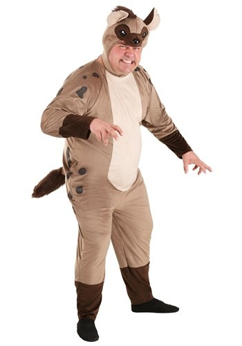 Plus Size Hyena Costume for Adults