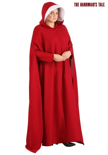 Plus Size Handmaid's Tale Womens Costume