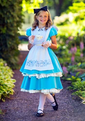 Girls Premium Alice Costume
