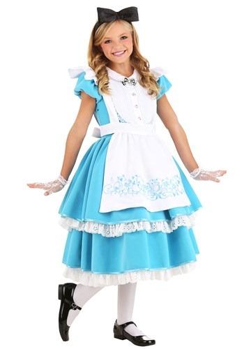 Premium Alice Costume for Girls