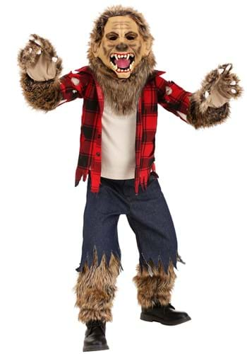 Click Here to buy Premium Werewolf Kids Costume from HalloweenCostumes, CDN Funds & Shipping