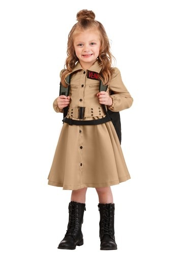 Click Here to buy Ghostbusters Toddler Costume Dress for Girls from HalloweenCostumes, CDN Funds & Shipping