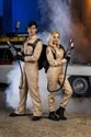 Ghostbusters Women's Plus Size Costume Jumpsuit
