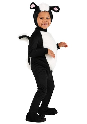 Click Here to buy Skunk Costume for Toddlers from HalloweenCostumes, CDN Funds & Shipping