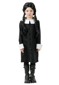 Addams Family Wednesday Addams Child Costume