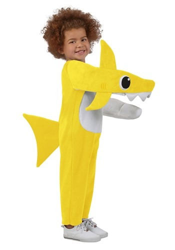 Click Here to buy Unisex Baby Shark Costume for a Kids from HalloweenCostumes, CDN Funds & Shipping