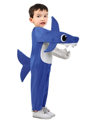 Deluxe Child Size Costume: Daddy Shark (Blue)