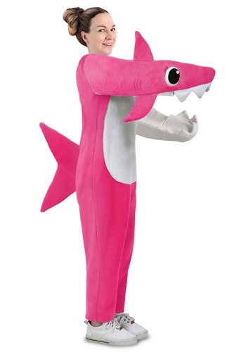 Click Here to buy Mommy Shark Deluxe Adult Costume For Women from HalloweenCostumes, CDN Funds & Shipping