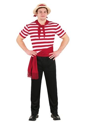 Venice Gondolier Adult Size Costume