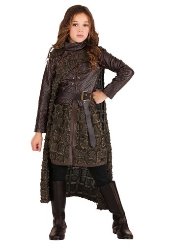 Click Here to buy Winter Warrior Girls Costume from HalloweenCostumes, CDN Funds & Shipping