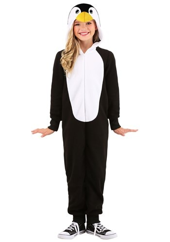 Kids Pajama Penguin Costume