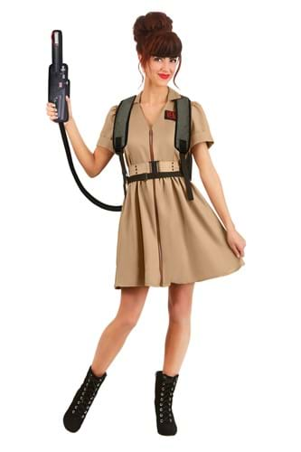 Womens Costume Dress Ghostbusters