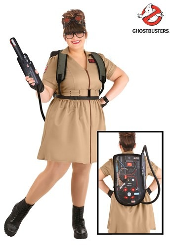 Ghostbusters Womens Plus Size Costume Dress