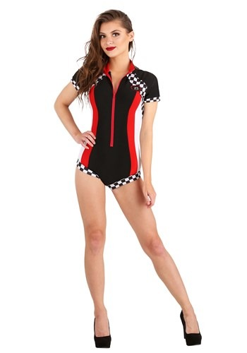 Snappy Racer Womens Costume