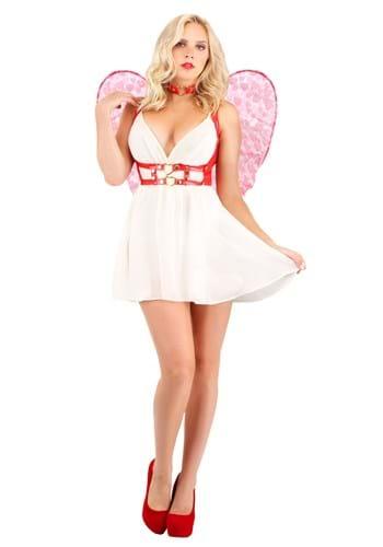 Womens Crimson Cupid Costume